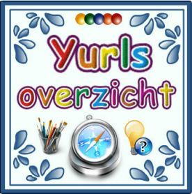 Overzicht YURLS :: overzicht.yurls.net Hier vind je superveel sites van meesters en juffen, met héééél veel info,tips én materialen