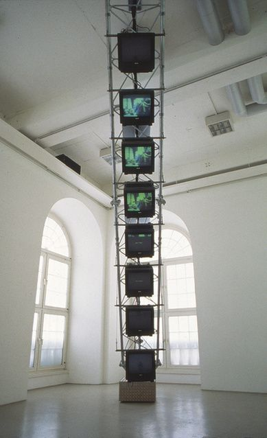 Dara Birnbaum | Transmission Tower: Sentinel (1992) | Artsy