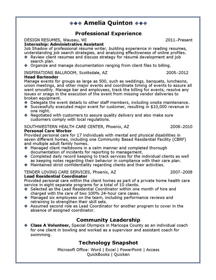 7 best Resume Template Open Office images on Pinterest Free open - government resume examples