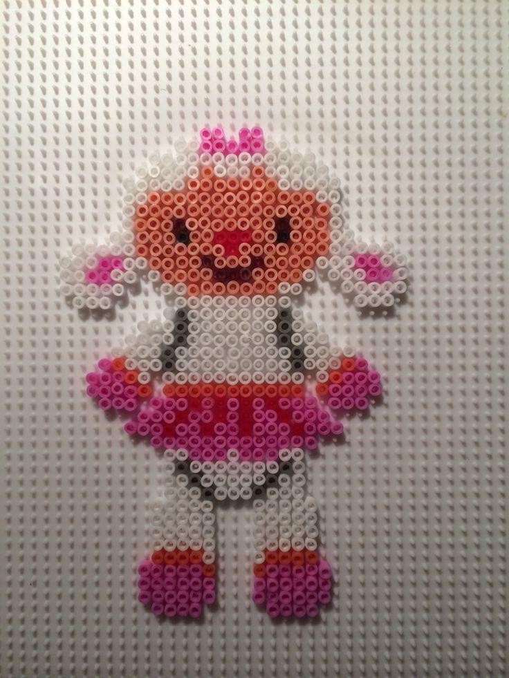Lambie - Disney Doc McStuffins hama beads by Camilla Merstrand