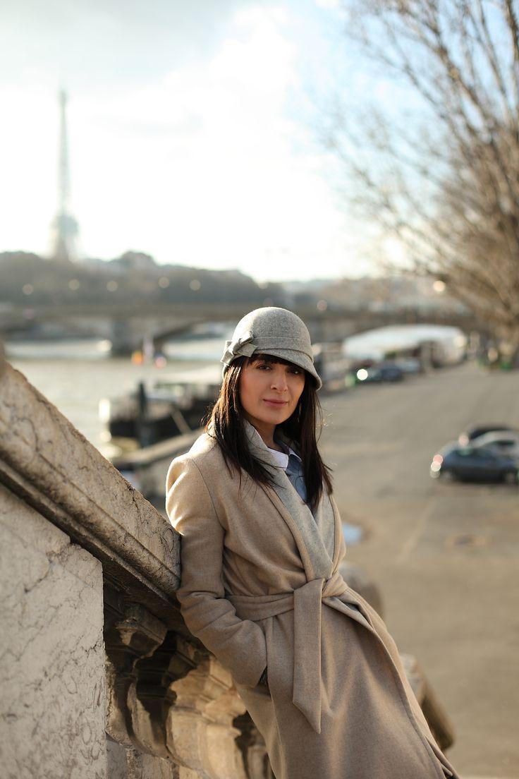 grey hat in paris