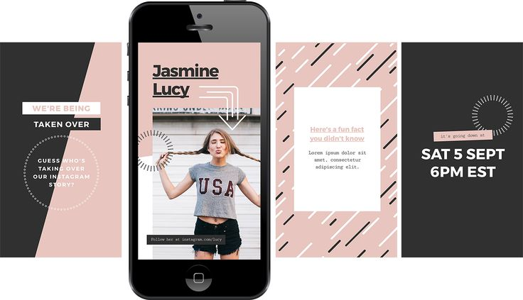 Instagram Story Free Template - Instagram Takeover! - Multiple images!