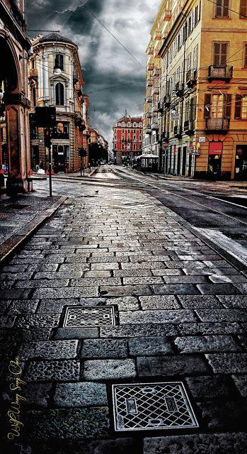 Torino In My eyes: Morning Light On Via Bertola
