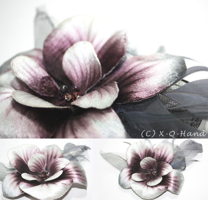 Orchid - Hand Embroidery by X-Q-Hand on DeviantArt