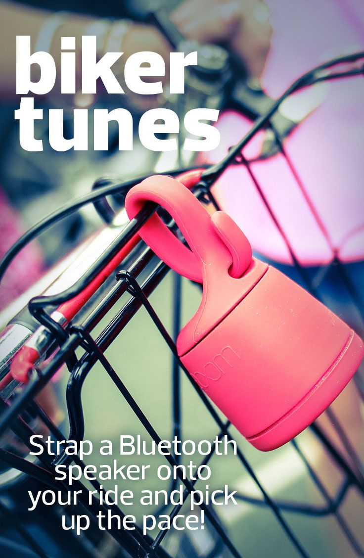 Bluetooth speakers are a great way to add music to your bike, and still be able to hear the world around you.