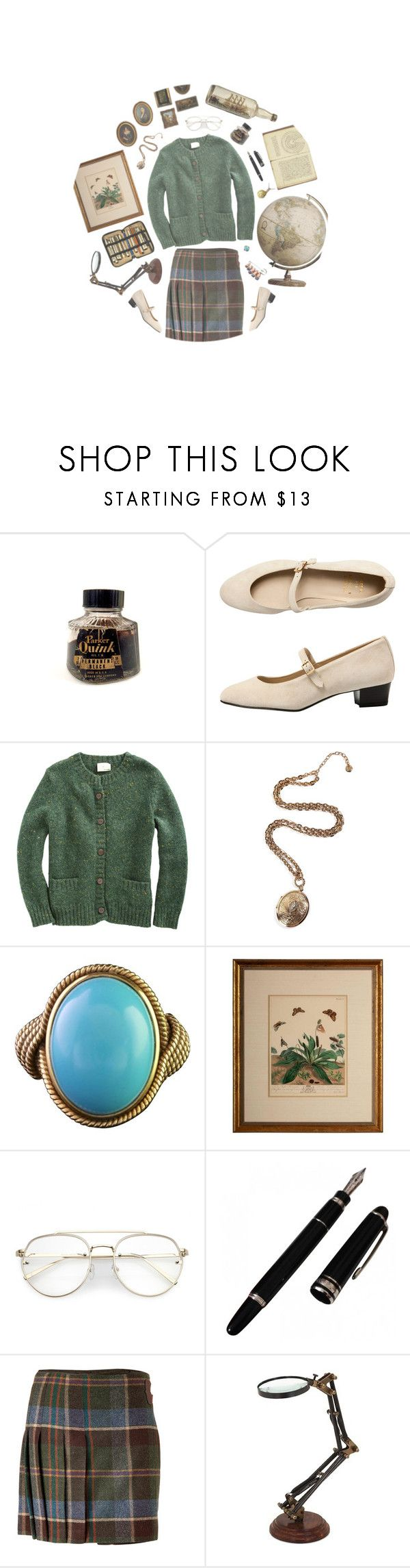 """""""Histoire"""" by kennyblayne ❤ liked on Polyvore featuring Parker, American Apparel, Band of Outsiders, R.J. Graziano, Ralph Lauren and Moleskine"""