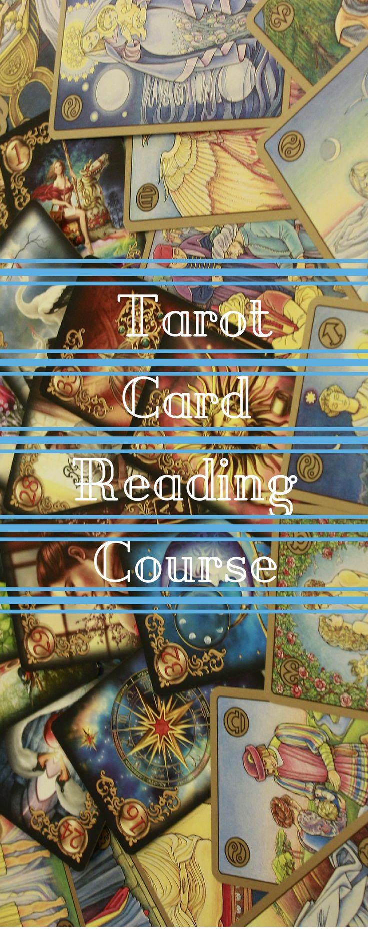 Complete tarot card reading course reading tarot cards