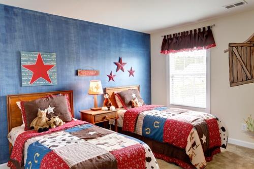 Cowboy Bedroom In Elcott Home Design In Avondale At Lawton Station