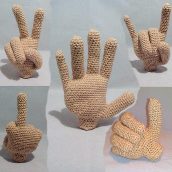 Häkelanleitung - das Händchen…