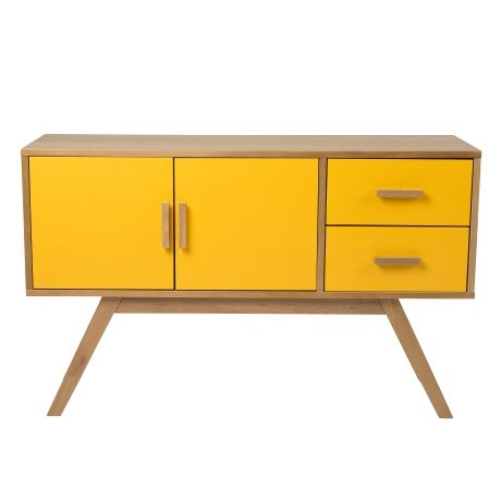 Mika 2 Door/2 Drawer Buffet   Freedom Furniture and Homewares