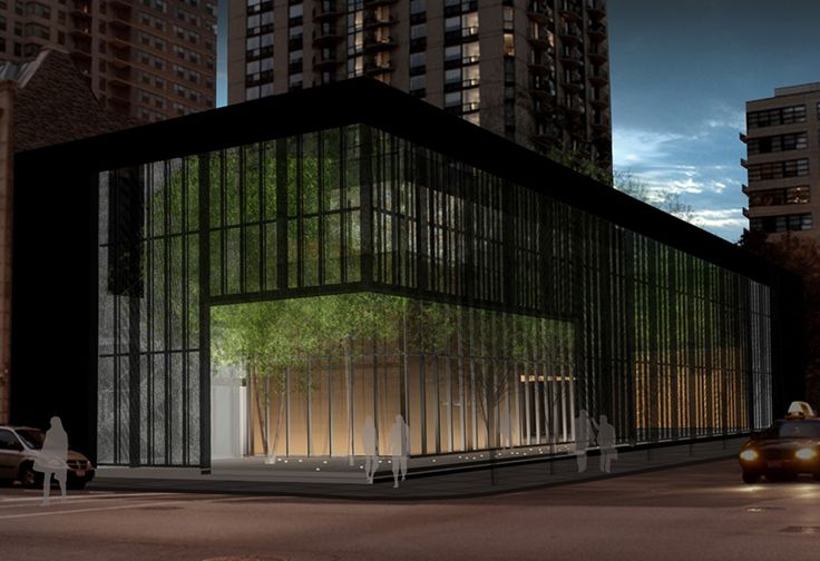 architecture: Zinc Garden Grows at Ronan's Poetry Foundation
