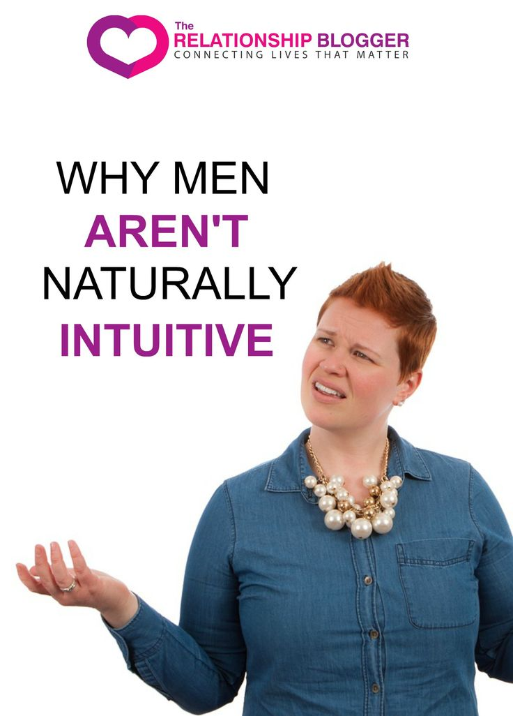 Why men arent naturally intuitive