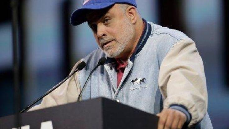 Author and radio talk show host Mark Levin is battling CNN. AP Photo