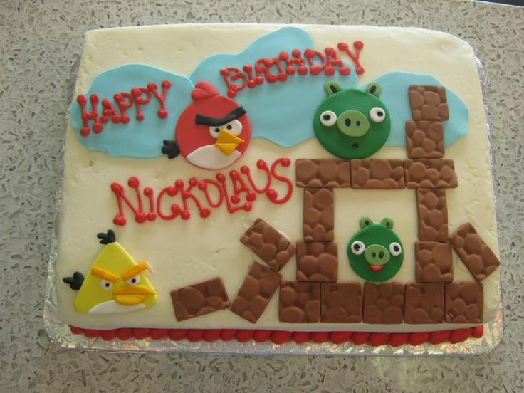 30 mejores imgenes de Party Angry Birds en Pinterest Pasteles