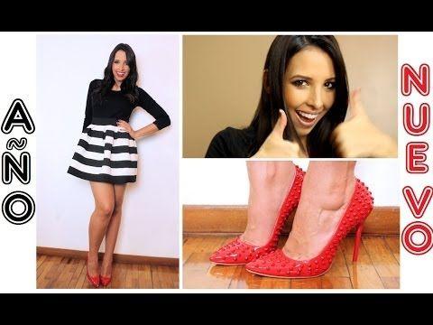 BELLA en AÑO NUEVO! Maquillaje + Cabello + Outfit + Uñas ! - YouTube