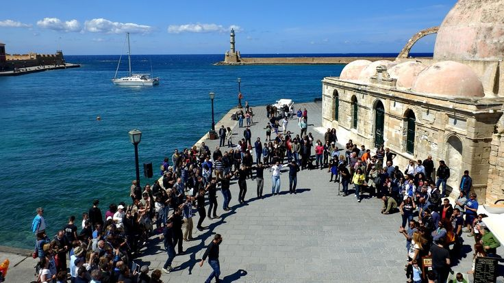 FlashMob @ Chania | Dancing with a Cretan Heart | Apr 2014
