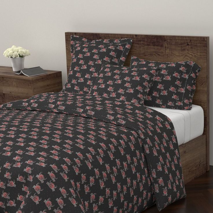 Wyandotte Duvet Cover featuring GREEK CRAB by joancaronil | Roostery Home Decor