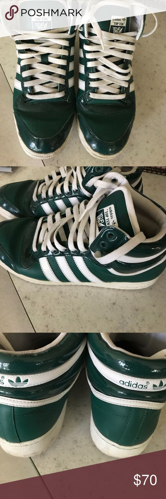 Adidas Top Ten Retro Basketball Shoes Excellent used condition. adidas Shoes Athletic Shoes