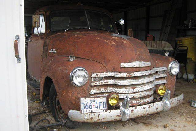 Perfect Shop Truck: 1953 Chevrolet 3100 - http://barnfinds.com/perfect-shop-truck-1953-chevrolet-3100/