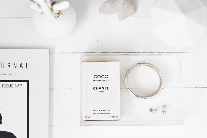 Storage jewelry-parfume