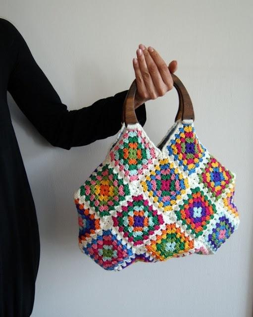 innovart en crochet: A cuadrados en crochet
