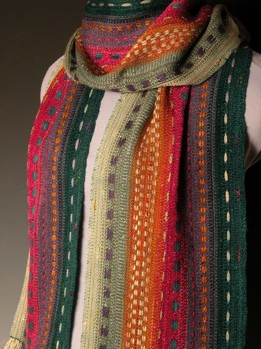 Warp faced weave