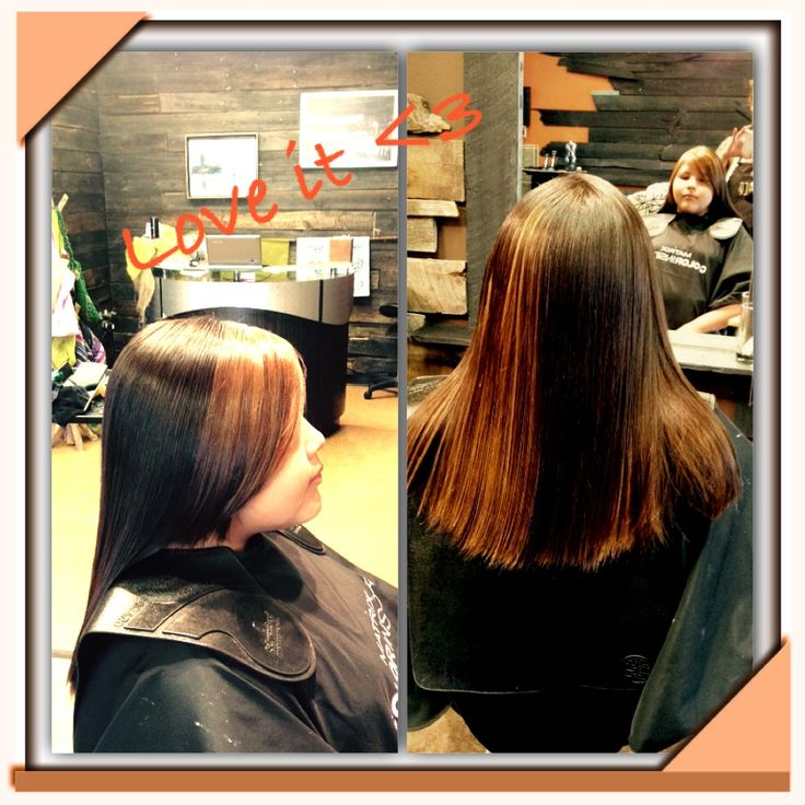 Beautiful and unique two toned hair colour by Master Colourist Michele Spooner (cut & colour by M.Spooner) #loveit #unique #todyefor