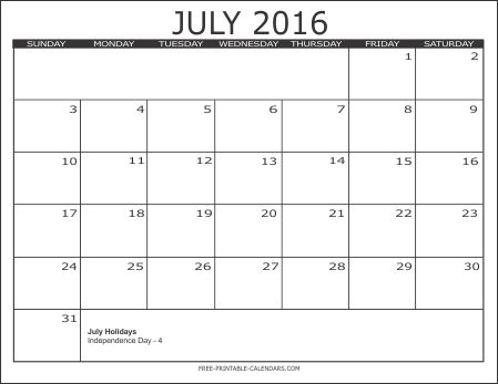 Best  July  Calendar Template Ideas On   Blank