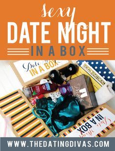 Sexy Date- in a box. {For our anniversary or maybe next Valentine's Day.}
