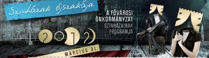 Színházak Éjszakája - Szept. 20 ! Rengeteg program , színészek, színházak, színházi emberek és nézők napja, gyere el te is !!! *:-D