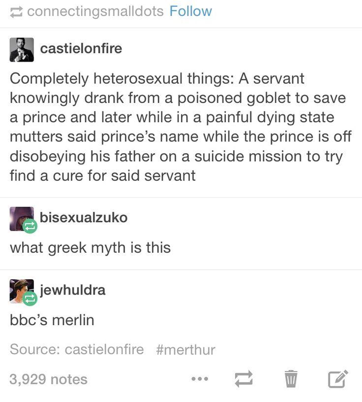 The Greek tragedy of Merlin.
