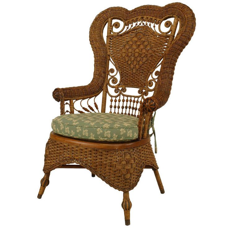 614 Best Antique Wicker Rattan Furniture Images On