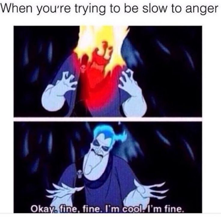 When you trying to be slow to anger meme  #christianmeme #christian #memes