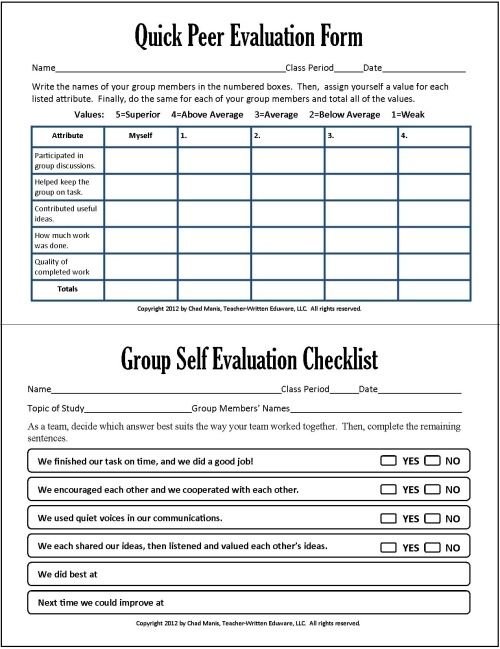 Best 25+ Presentation evaluation form ideas on Pinterest - employee evaluation form template