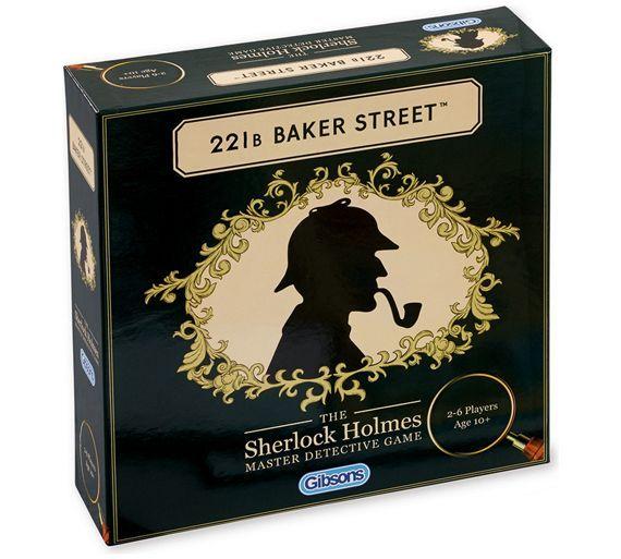 221b baker street board game clue book