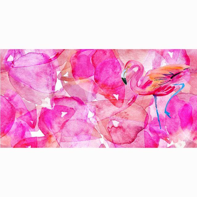 140x70cm Fast Drying Flamingo Bamboo Fiber Bath Towel Travel Gym Camping Sport Bathroom Towels Women Men Beach Serviette