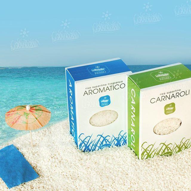 #riso #passiu #aromatico #carnaroli #agricolapassiu #mare #chicchidiriso #oristano #sardegna #pack #italy #sea #rice