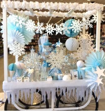 Frozen inspired Candy Party Cart #Frozen #Frozenparty #party