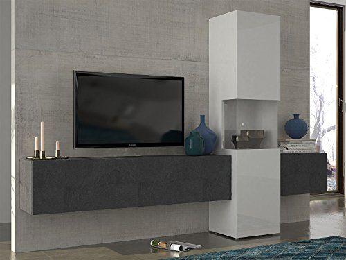 Wohnwand Mediawand Wohnzimmerschrank Fernsehschrank Tv Schrank Incontro I 1 Wohnzimmerschranke Wohnwand Wohnen