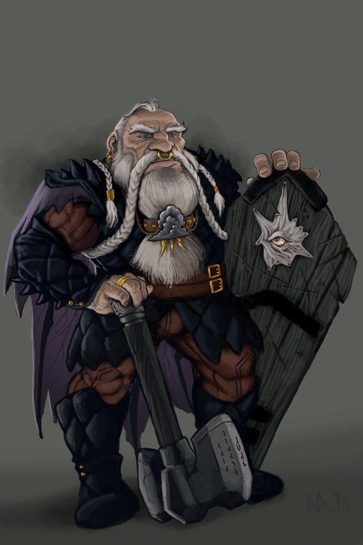 Dwarf Tempest Cleric by lordsenneian.deviantart.com on @DeviantArt