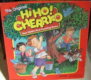 Hi Ho! Cherry-O... yea I member playing this with my sister and our friend...