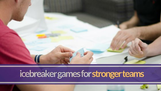 6 ice breaker games for work that build strong employee relationships and great company culture. These can also be used as ice breaker games for staff meetings.