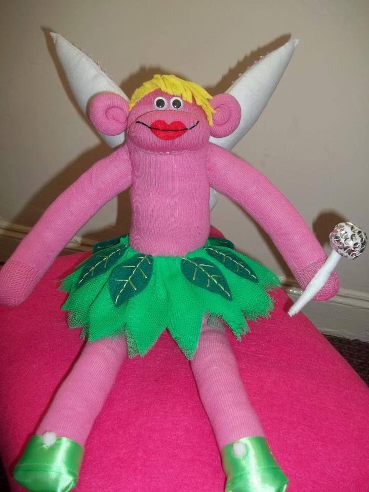 ''Tinkerbell'' sock monkey
