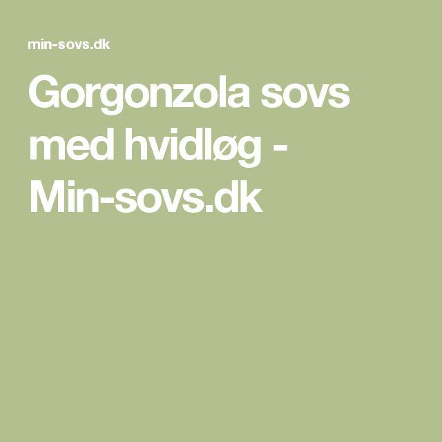 Gorgonzola sovs med hvidløg - Min-sovs.dk