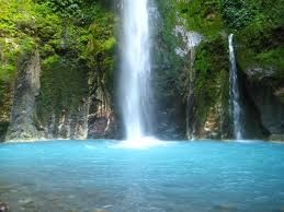 Songgolangit waterfall, Kediri Indonesia