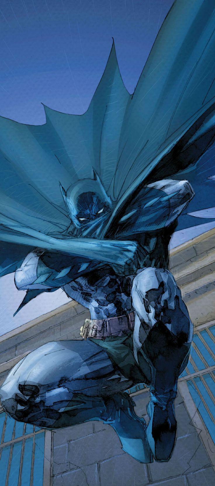 Awesome Batman artwork by Jim Lee