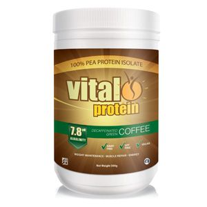 Vital Protein green coffee