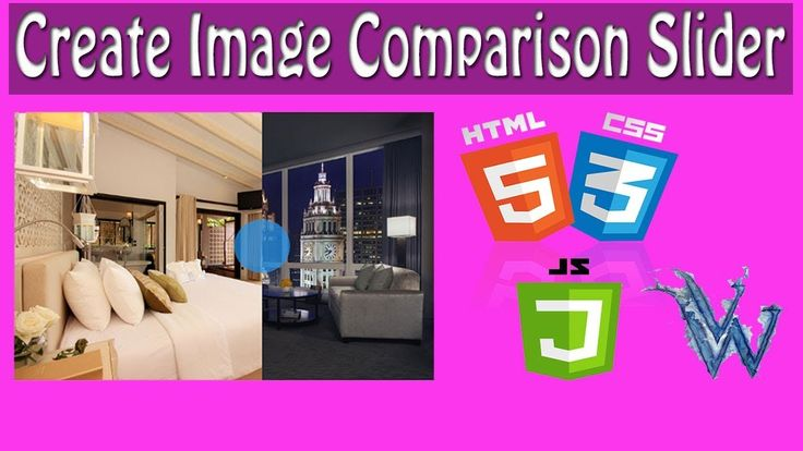 Image Comparison Slider Facebook 2018 Using HTML5 , Jquery and CSS3 By A...