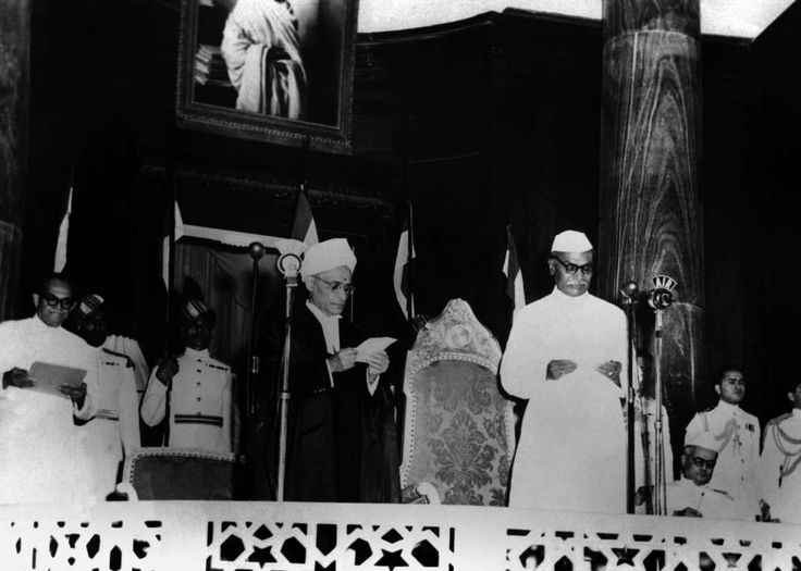 January 26,   1950: Republic of India is born  -   Rajendra Prasad becomes the first president of India after the nation is deemed a republic. The Indian Constitution also comes into force on the same day.
