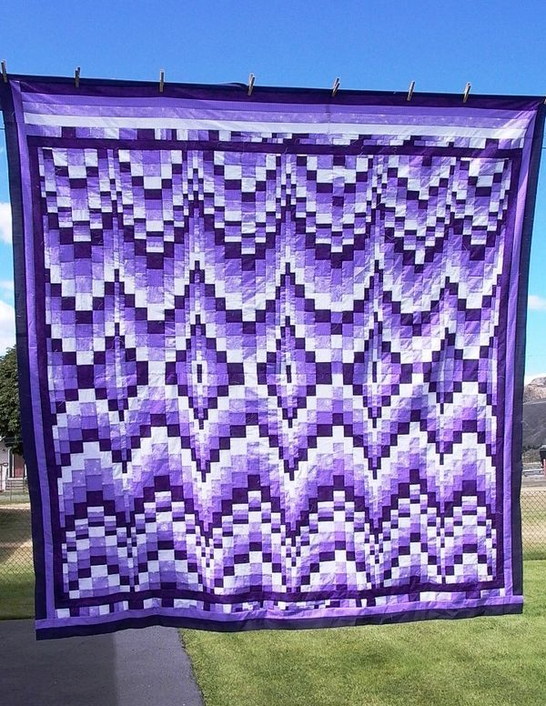 Bargello quilt  - totally in love with this style!
